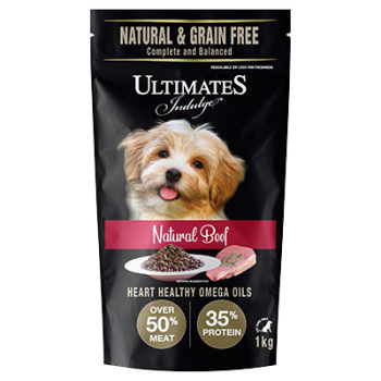Ultimates Indulge Natural Beef 1kg-1