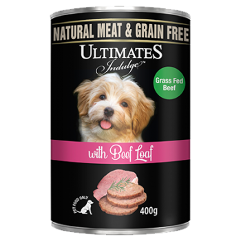 Ultimates Indulge with Beef Loaf 400g-1