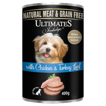 Ultimates Indulge with Chicken & Turkey Loaf 400g-1